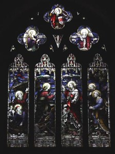 saint johns stained glass christ summons1