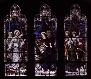 saint johns stained glass jesus appears2