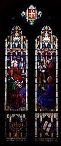 saint johns stained glass jesus teaching1