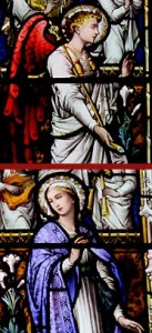 saint johns stained glass the annunciation1
