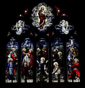 saint johns stained glass the ascension2