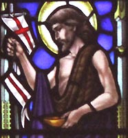 saint johns stained glass the baptism1