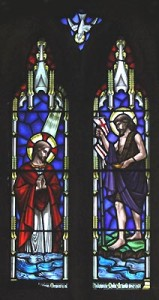 saint johns stained glass the baptism2