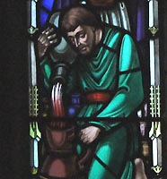 saint johns stained glass the wedding2