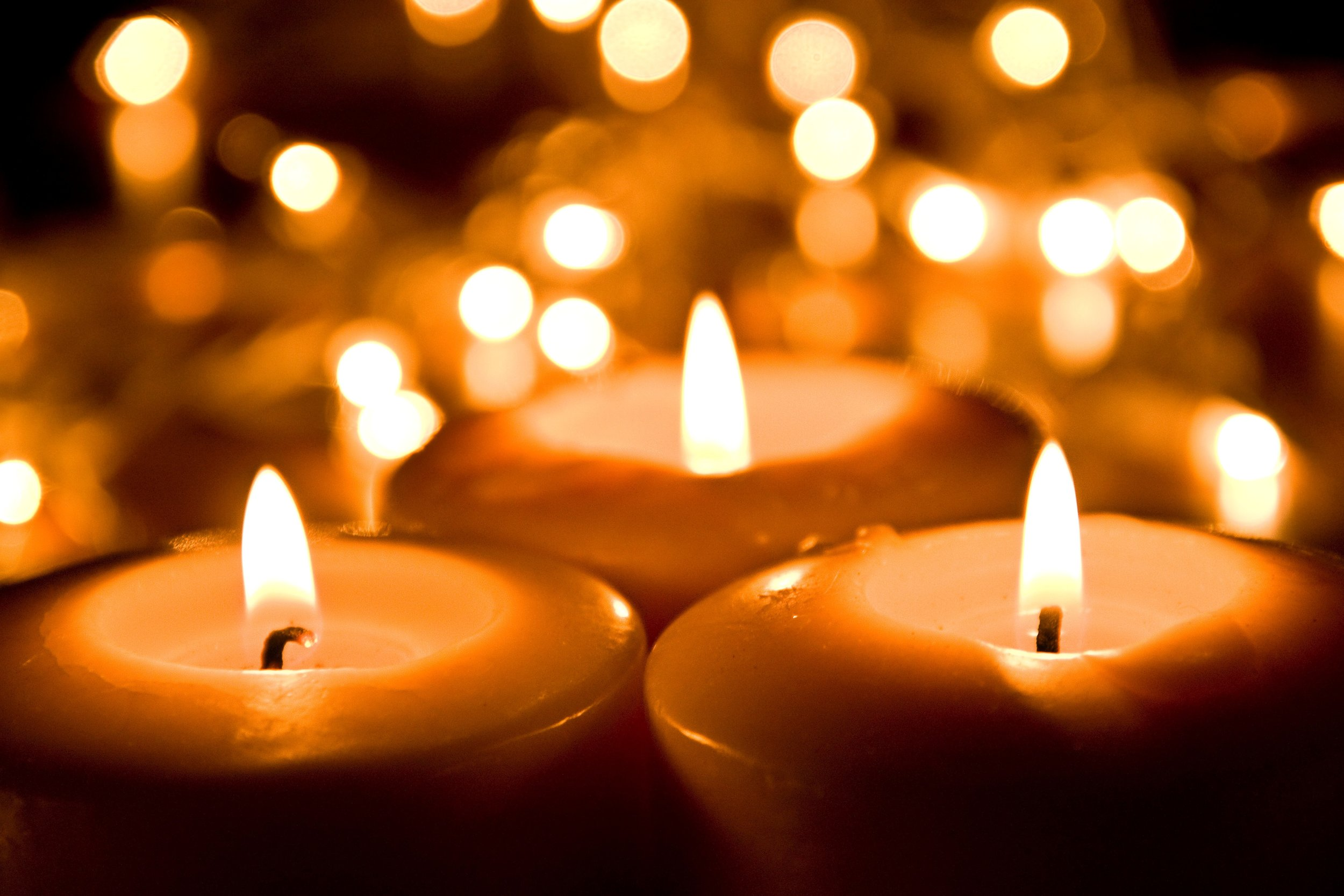 RELIGIOUS CHRISTMAS STILL LIFE WITH BIBLE CANDLES AND ...  |Christian Christmas Candles